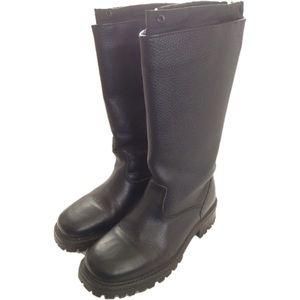 L.L. Bean Black Leather Boots